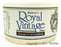 Butera Royal Vintage: Sweet Cavendish