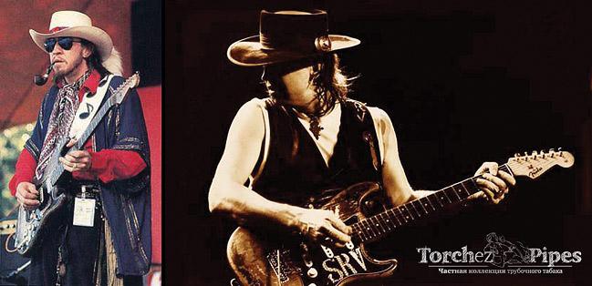 Stevie Ray Vaughan. Знаменитые трубокуры.