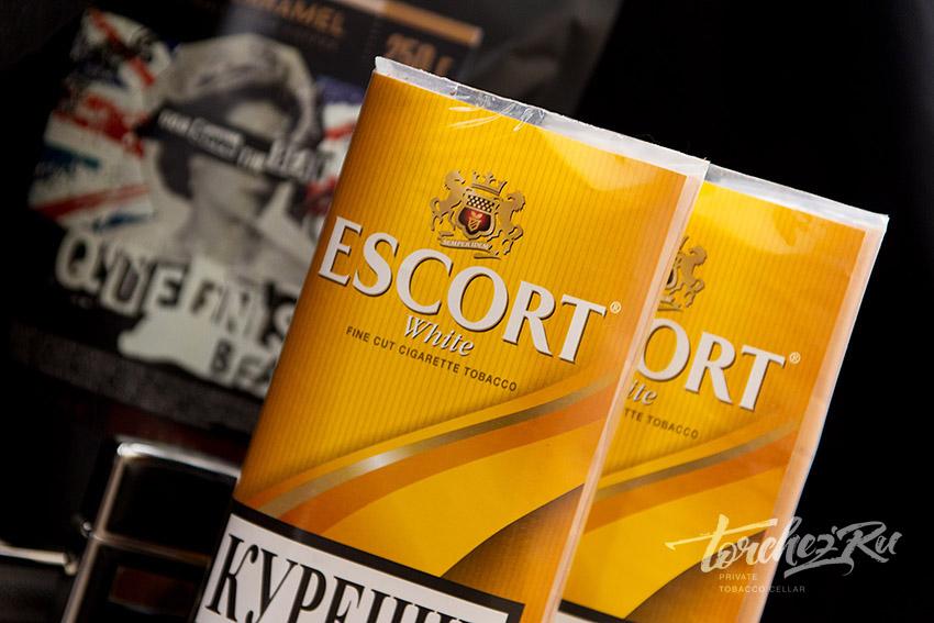 Табак для самокруток Escort White Отзывы