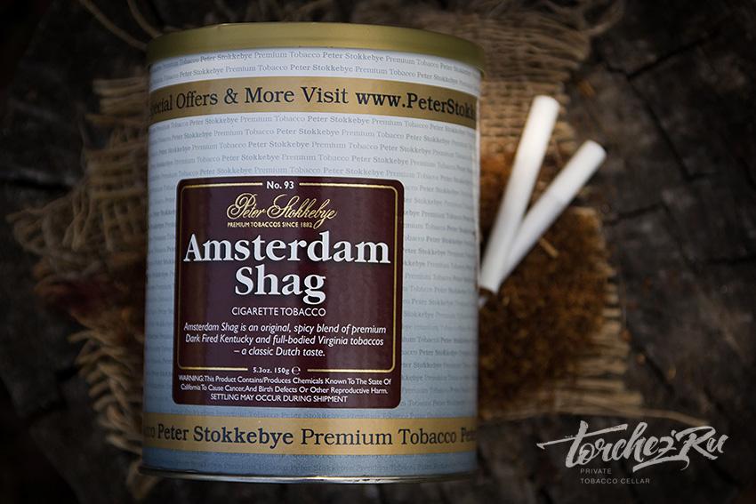 Табак для самокруток Peter Stokkebye Amsterdam Shag // Обзор