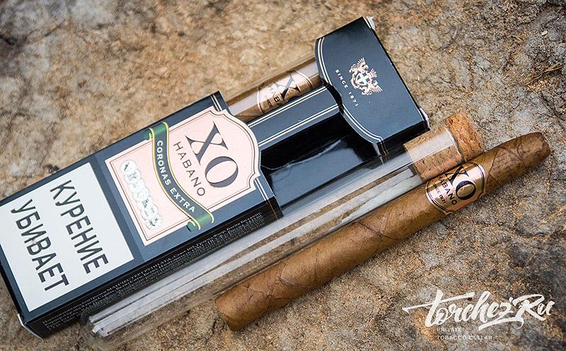 Сигариллы XO Habano Coronas Extra. Обзоры и отзывы