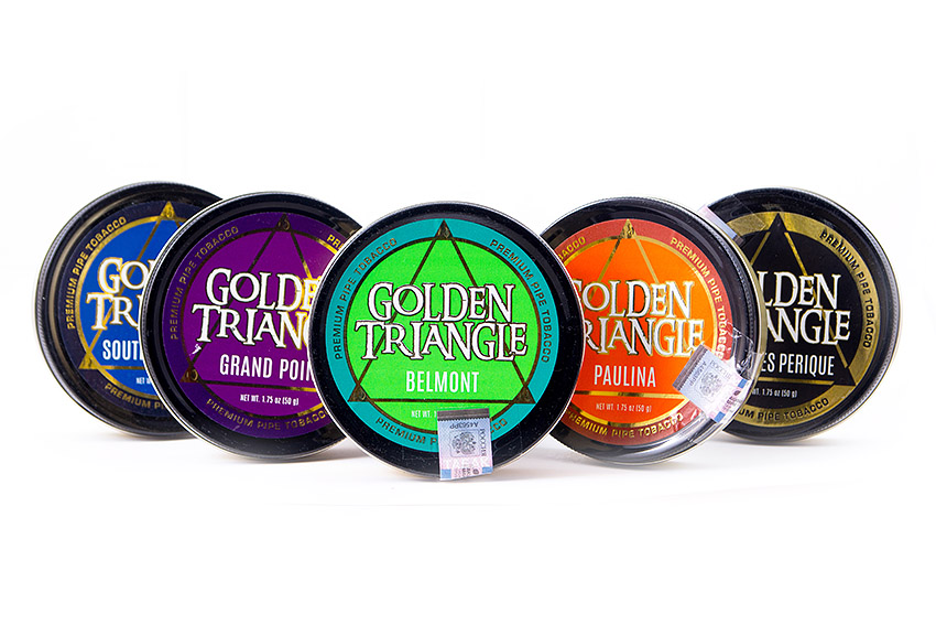 Premium Tobacco Set - Golden Triangle