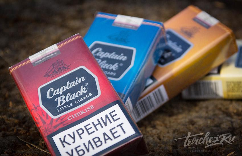 Сигареты вишнёвый Captain Black Cherise Черри // Обзоры и отзывы
