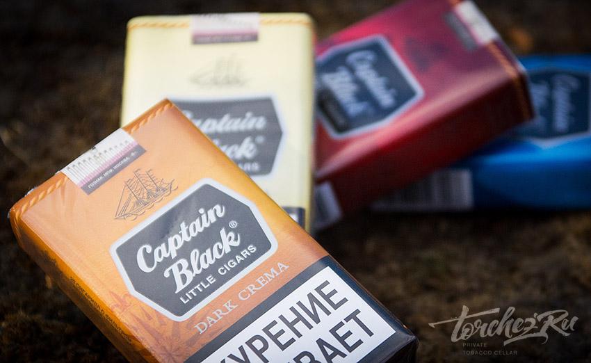 Сигареты Captain Black Dark Crema // Обзоры и отзывы