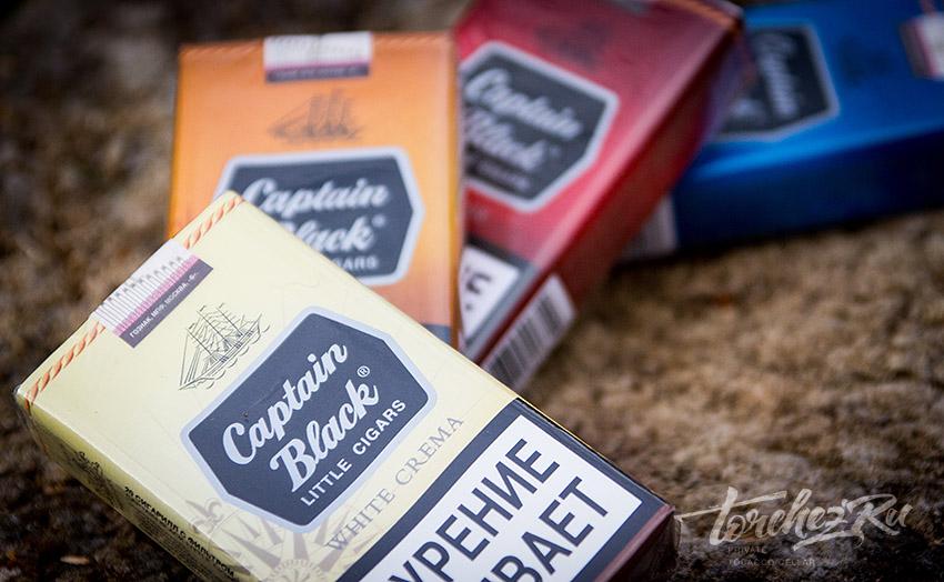 Сигареты Captain Black White Crema Little Cigars. Обзоры и отзывы
