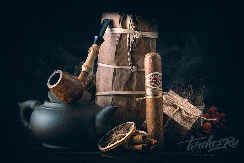 Кубинские сигары и чай - фото, картинки, изображения