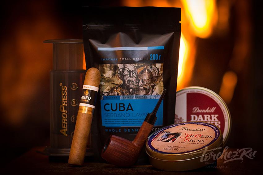 Сигары Dunhill, табак Dunhill, кофе и вечер у камина - Фото подборка