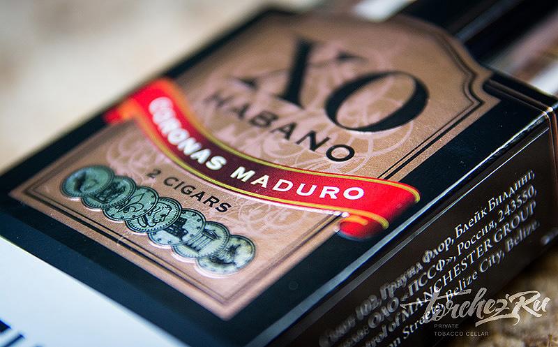 Сигариллы XO Habano Coronas Maduro. Обзоры и отзывы
